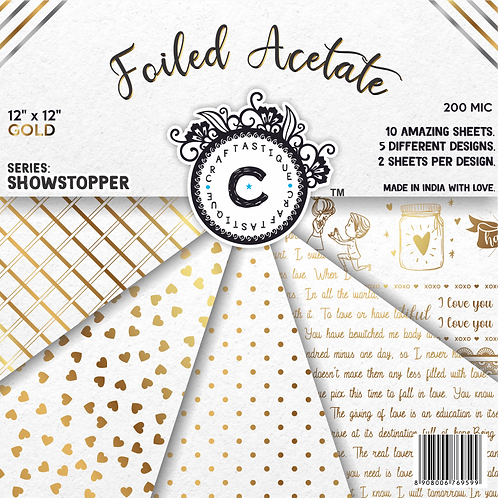 Showstopper Series Acetate-Gold