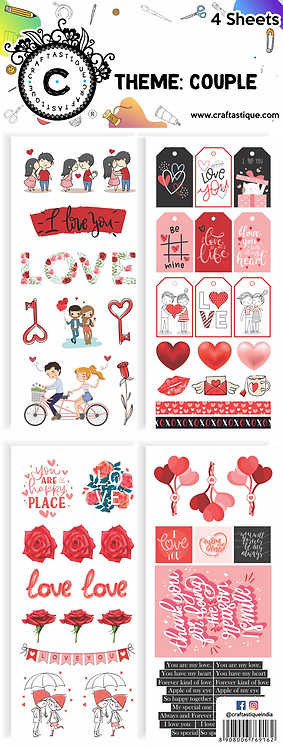 Elements & Tags Sheets : Couple
