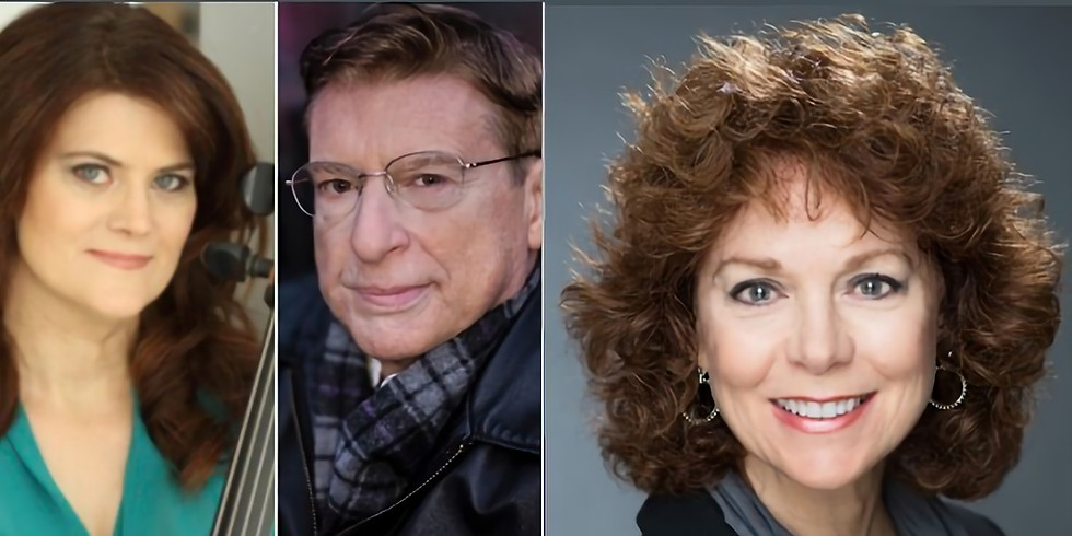 Entertainers: Cellist Amy Ralske & Pianist Mark Janas    Speaker: Donna Palomba