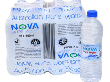 Nova Pure Water 600ml x 12 pack