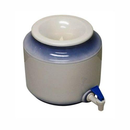 Bench Top Ceramic Water Blue Dispenser + 2 x 15L
