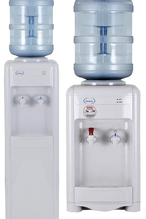 Water Dispenser with 3 x 15L bottles - Annual Rental
