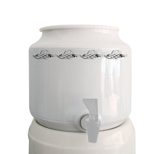 Bench Top Ceramic Water Dispenser + 2 x 15L