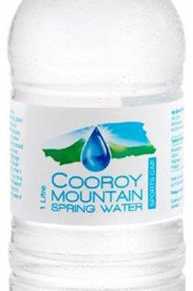 Cooroy Mountain Spring Water 1L Pump bottle x 15