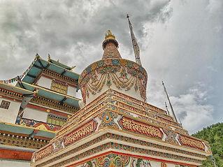 Bhutan beautiful Thimphu Lhakang.jpg