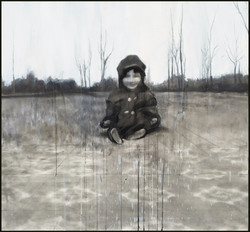 Child On Outdoor Linoleum