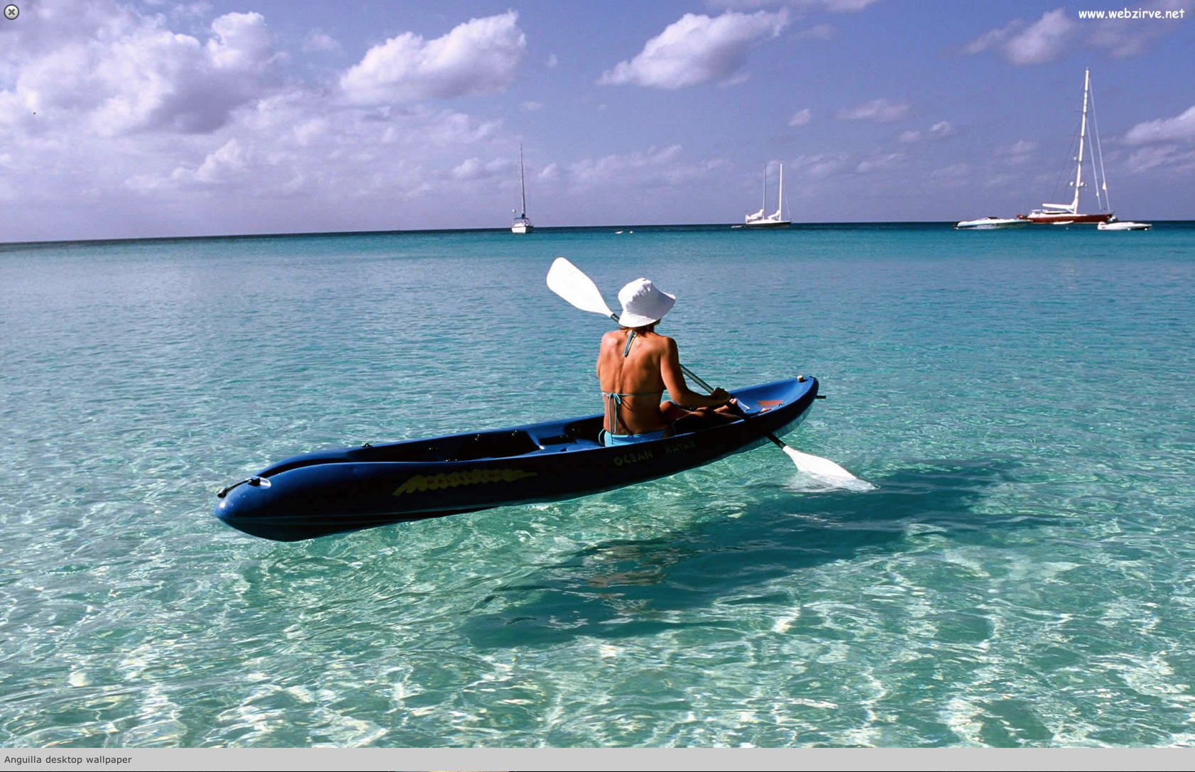 Kayak in Anguilla