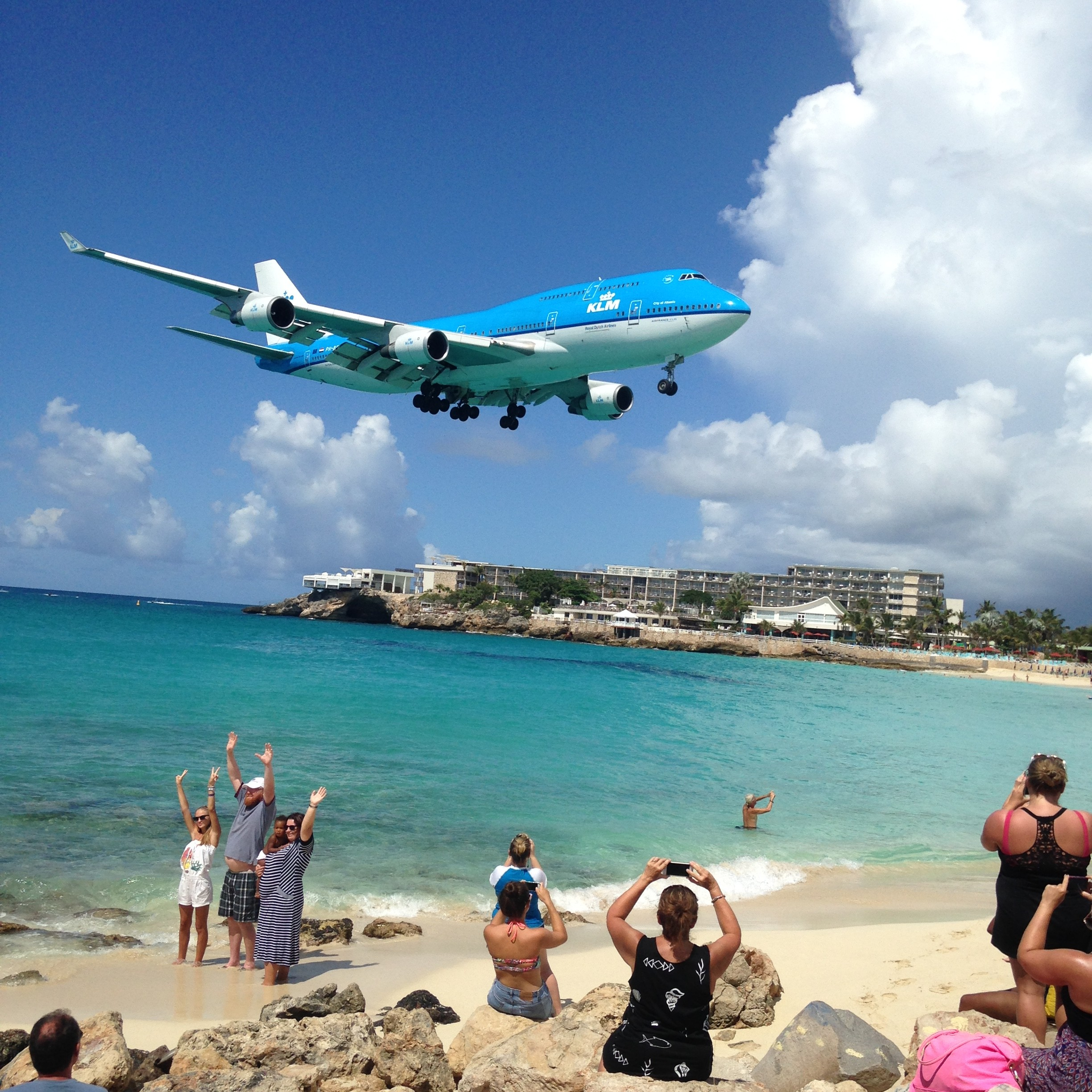 Arrival to SXM
