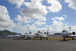 Private Jet at Anguilla Airport