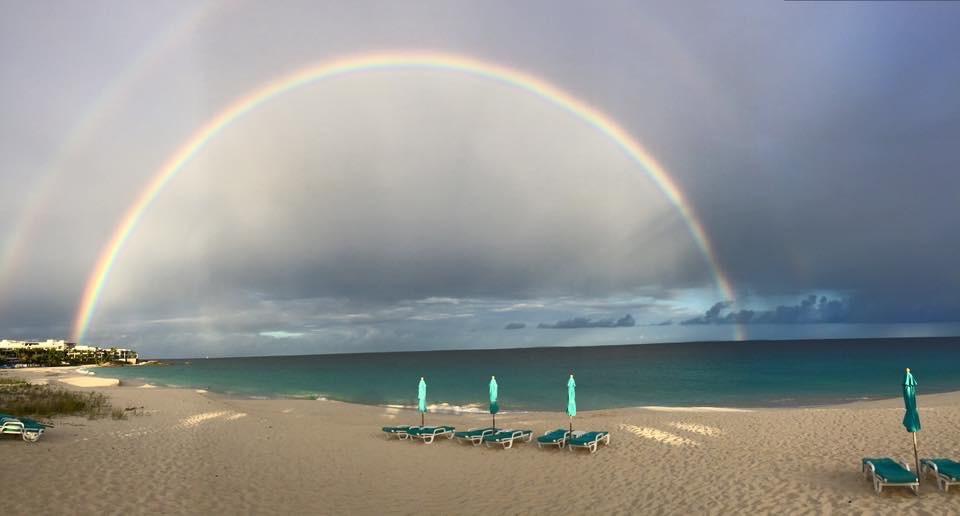 Shoal Bay Anguilla Rainbow