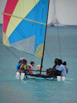 Kids sailing camp