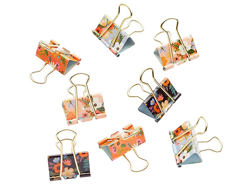 Rifle Paper Binder Clips
