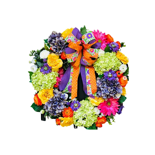 Spring / Floral Wreath