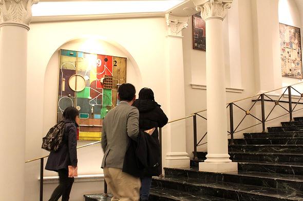 Sousa Louroexhibiting six months at a london landmark building