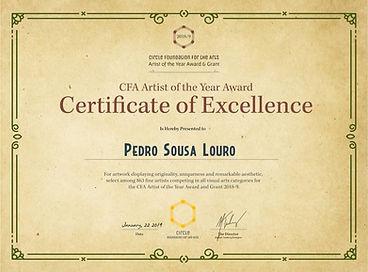 """""""Excellence Award"""" 2019"""