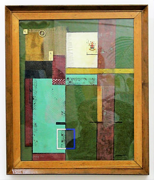 """""""Astronomical Joker one""""  Mix media on canvas fixed in a wooden board.  59cmHx59cmW framed on an old restored red oak wood frame with glass incorporate."""
