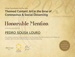 CFA Contest Honorable Mention | Pedro Sousa Louro