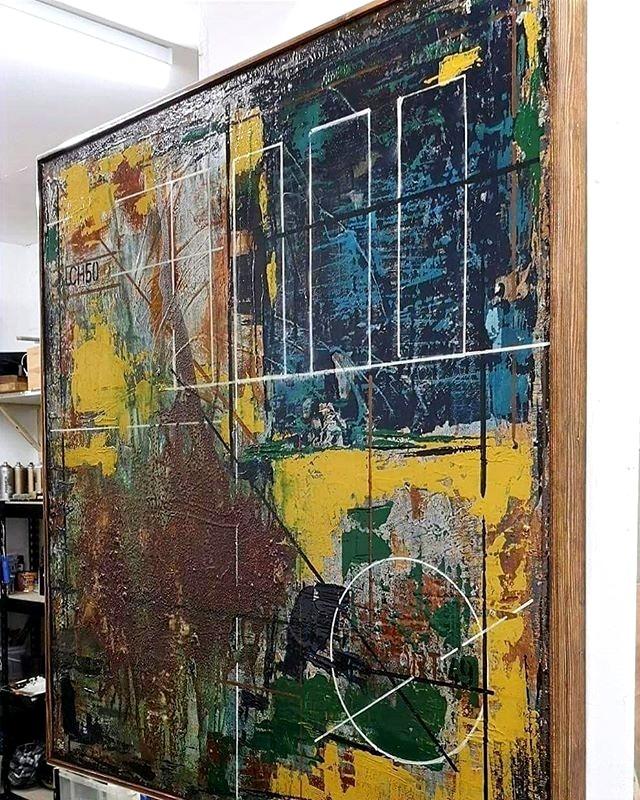 Sold at Wimbledon Art Fair