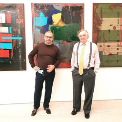 Saatchi Gallery with UK Portugal Ambassador Manuel Lobo Antunes