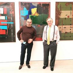 Saatchi Gallery with UK Portugal Ambassador Manuel Lobo Antunes