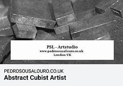 Award winning   Abstract Cubist Artist