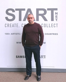 Pedro Sousa Louro at STARTnet 2020 at the Saatchi Gallery