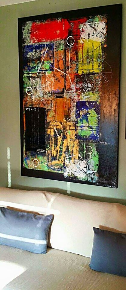 Sold to a Portuguese art collector
