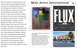 WALL STREET JOURNAL | ART MAGAZINE