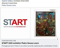 Saatchi Art Gallery Artists 2020 Press Review