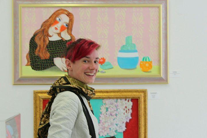 Irene RaspolliniFLUX Exhibition Summer 2017