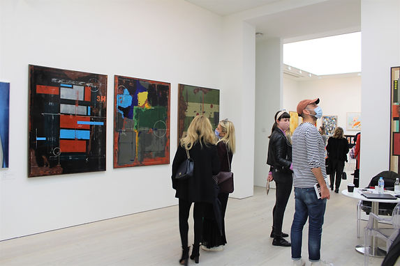 STARTnet 2020 at the Saatchi Gallery the artist Pedro Sousa Louro had a fantastic feedback from the public.