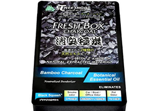 Treefrog Fresh Box Charcoal - Black Squash