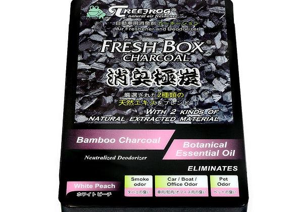 Treefrog Fresh Box Charcoal - White Peach