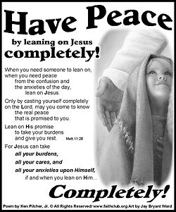 Have Peace By Leaning On Jesus.jpg