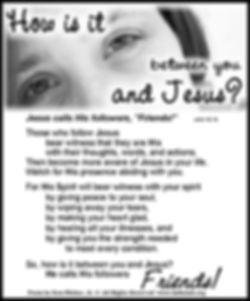 How Is It Between You and Jesus.jpg