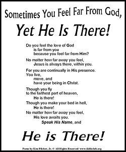Sometimes You Feel Far From God.jpg