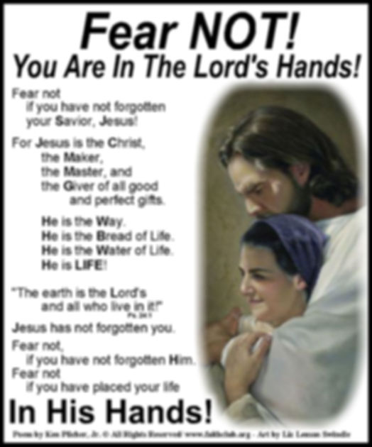 Fear Not You Are In The Lord's.jpg