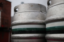 our casks...if you see these being deilvered then that pub has great taste!!