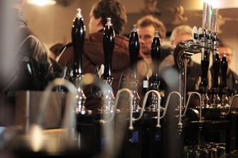 busy night at the bar.