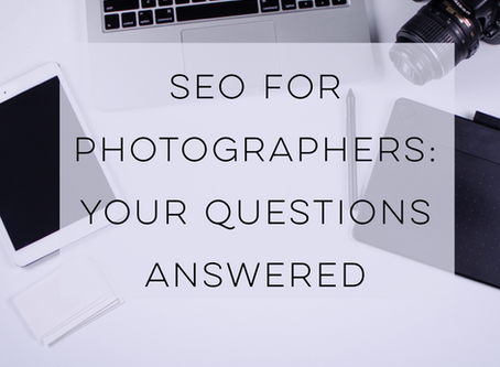 SEO for photographers: your questions answered