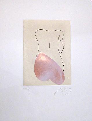 """noia d'esquena I"" Unframed, 2006"