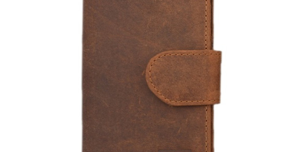 Nubuck Leather Samsung Case