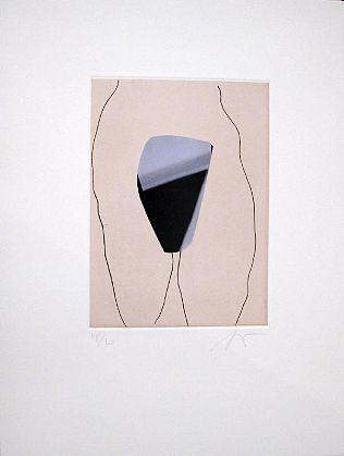 """the mirror"" Unframed, 2006"