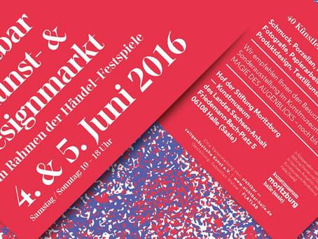 Sichtbar-Kunst und Designmarkt in Halle/ Saale