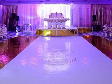#TheObasis ~ White, Gold, & Bling Wedding