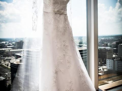 Motilola & Moses New Jersey Rooftop Wedding