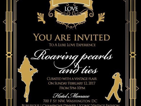 FTK~Konnect's Luxe Valentine's Event: Roaring Pearls And Ties!