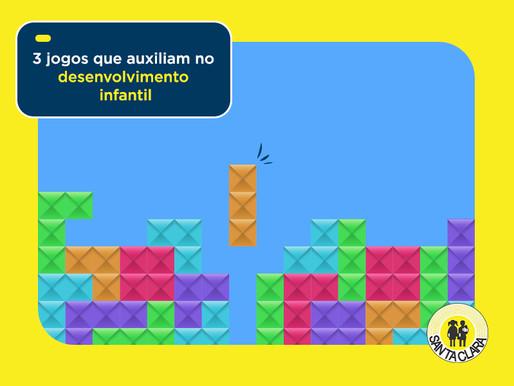 3 jogos que auxiliam no desenvolvimento infantil