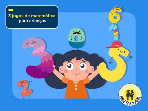 Conheça 3 jogos de matemática para crianças