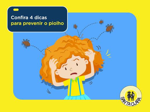 Confira 4 dicas para prevenir o piolho